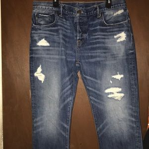 Abercrombie &Fitch Blue Jeans